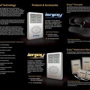 iEnjoy technologies Tri-Fold brochure design