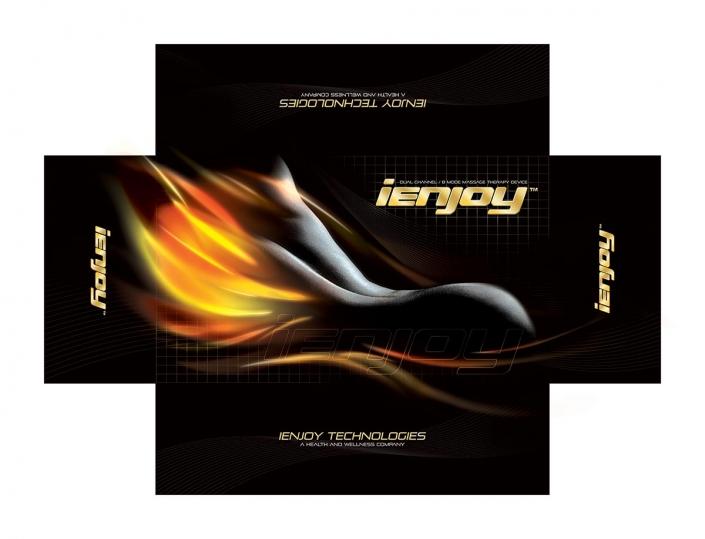 iEnjoy Technologies FIRE packaging design