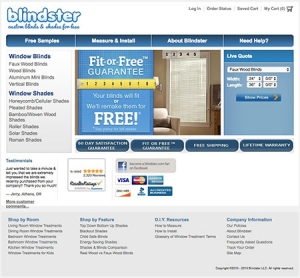 Original Blindster site
