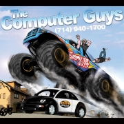 698 The Computer Guys mouse pad