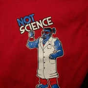 Nextlevel Painting not science red shirt