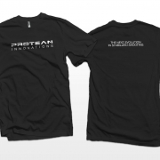 Protean Innovations shirt design