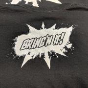 The Long War Network bringn-it shirt back