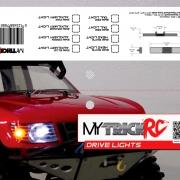 MyTrickRC Drive Light Bag Topper Packaging design