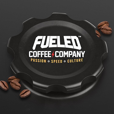Fueled Coffee Company - Fuel Cap with full background