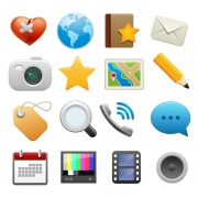 Icons designed to be used on Yellowbot.com