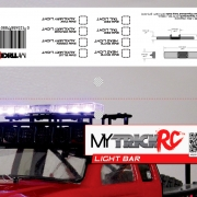 MyTrickRC Light Bar Bag Topper Packaging design