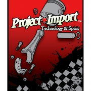 Project Import Red Sticker