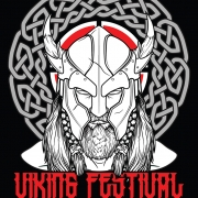 Viking Festival viking Head